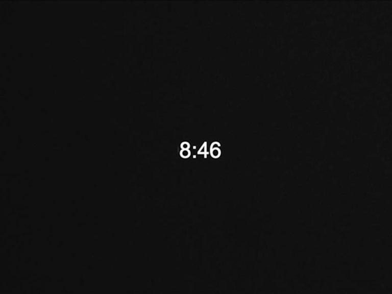 8:46 (memorial for George Floyd)