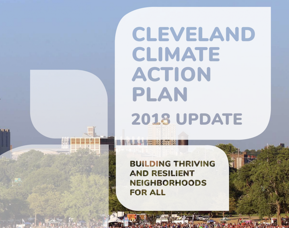 Cleveland Climate Action Plan Screenshot