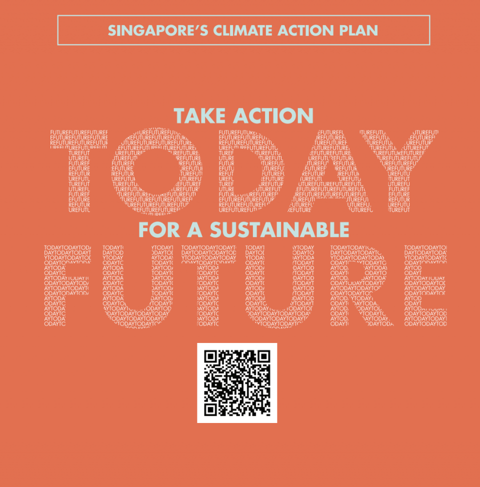 Singapore's Climate Action Plan Screenshot