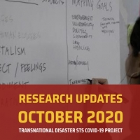 Transnational Disaster STS COVID-19 Project Updates October 2020
