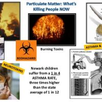 Newark children suffer from a 1 to 4 ASTHMA RATE, three times higher than the state average of 1 in 12.