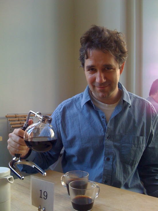 Joe Dumit coffee pic