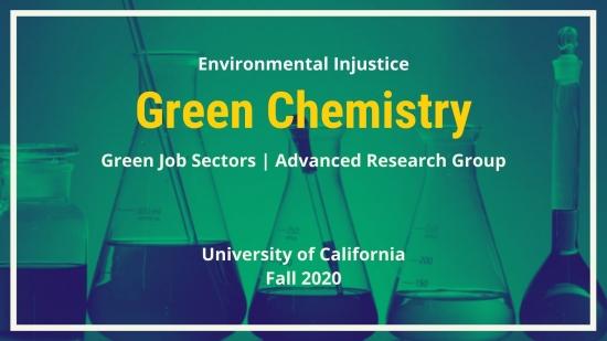 Green Job Sector: Green Chemistry