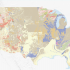 Thumbnail image for Public Lands Civic Data Essay that is screenshot of a U.S. geologica map