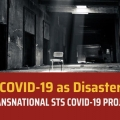 COVID-19 as Disaster